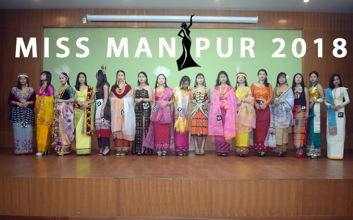 Miss Manipur 2018 | Raina Sharma Laimayum