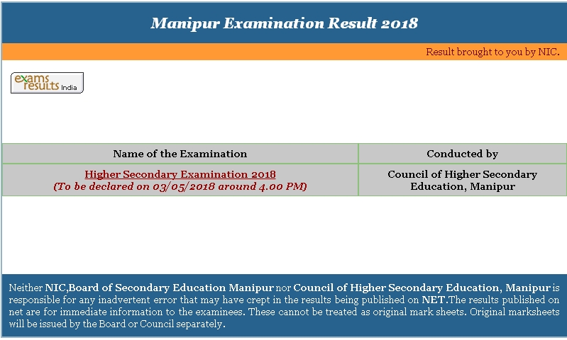 higher secondary result